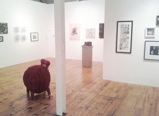 """Nuite Blanche and """"Insominia"""" At the Red Head Gallery"""