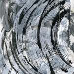 Black and White Abstract Show Concludes