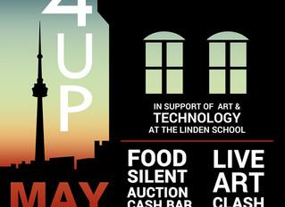 4 STOREYS UP--LIVE ART CLASH AT LINDEN