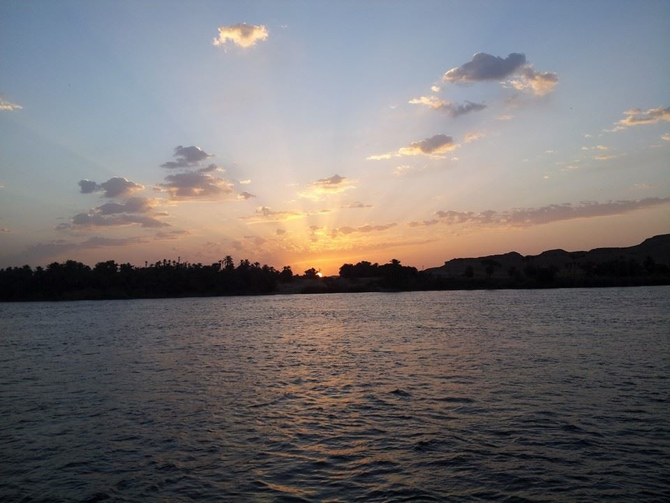 Sunrise over the Nile