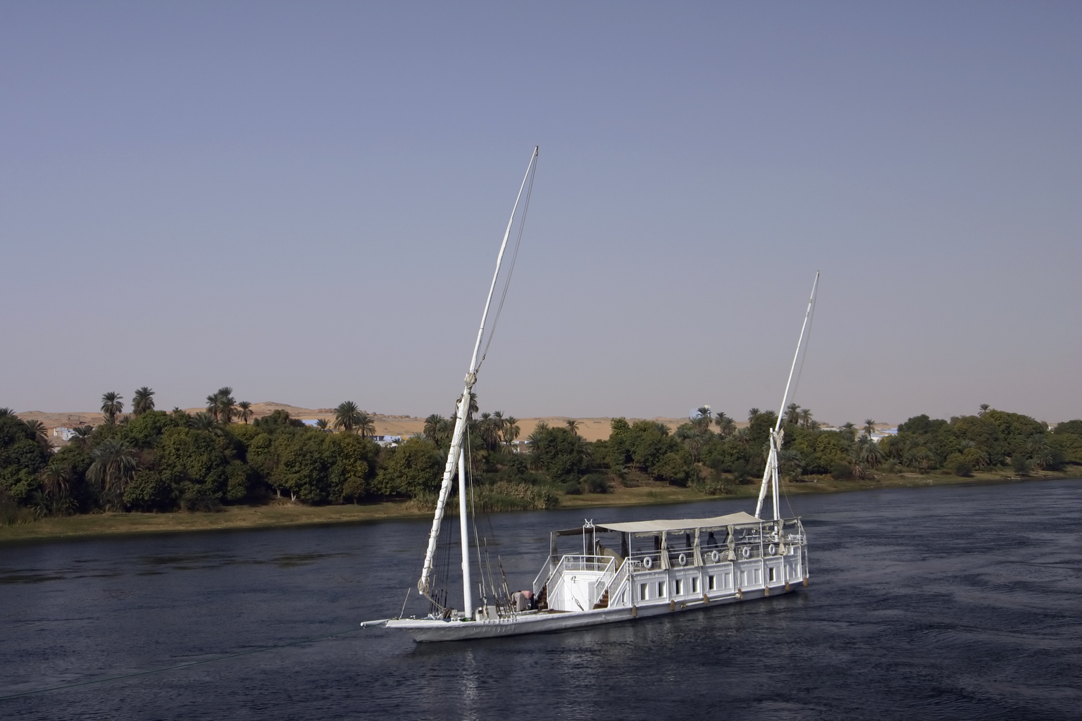Dahabeah on the Nile