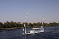 Dahabeah on the Nile