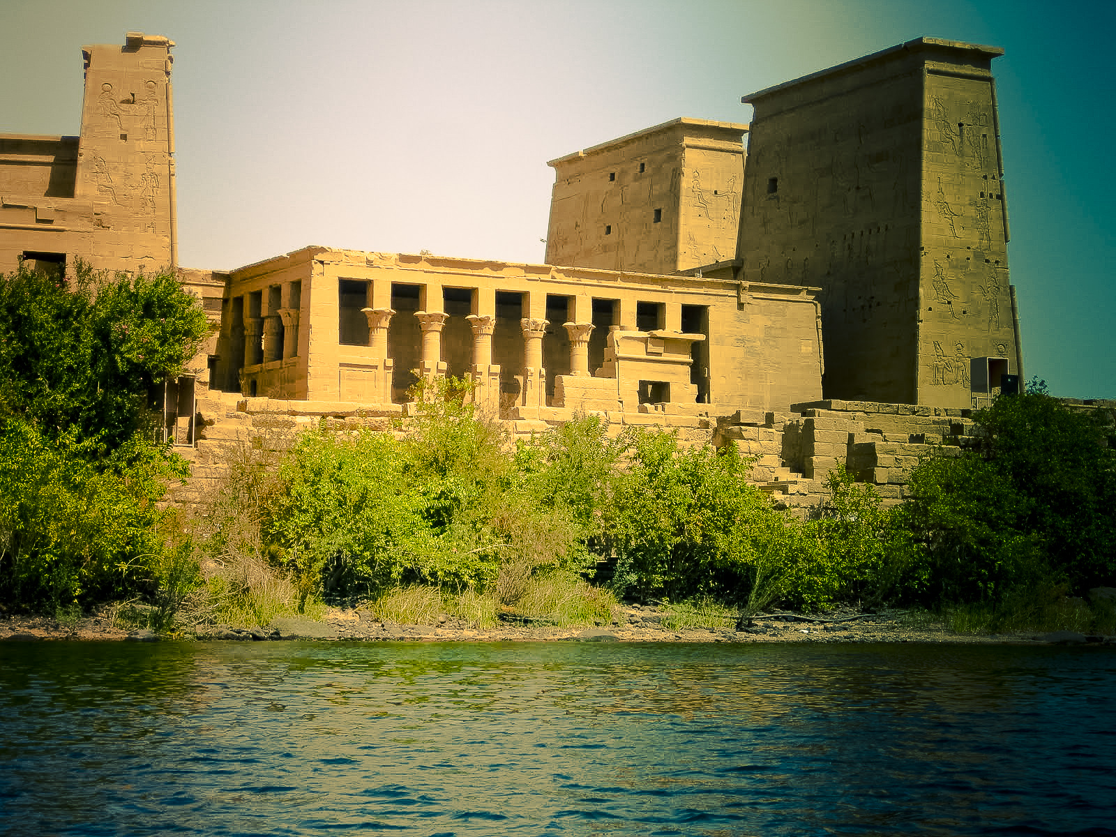 Philae Temple from the Nile