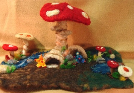 Mushroom Fantasy Look-out Mini