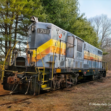 Working Vintage Locomotive