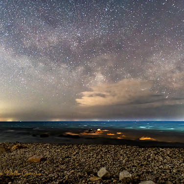 Milky Way Rising over Massachusetts