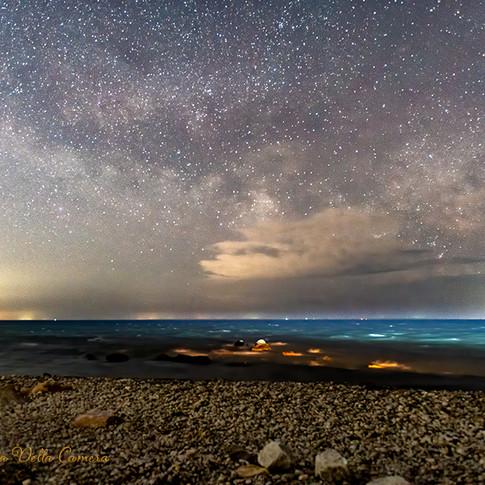 Milky Way Rising over Massachusetts