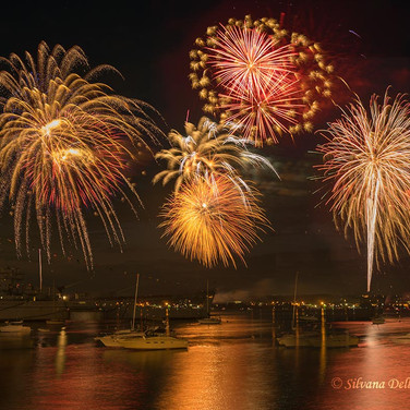 Fireworks in Fall River