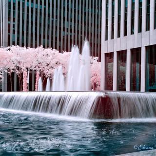 Near Rockefeller Plaza, Infrared