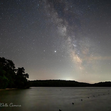 Milky Way over a Cape Cod pond