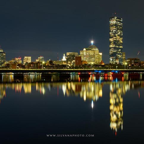 Tranquil Night in Boston