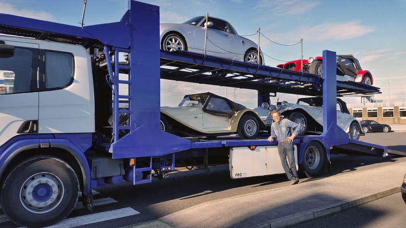 Fahrzeug-Transport
