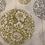 Thumbnail: Paquet de 20 serviettes en intissé boules de Noël