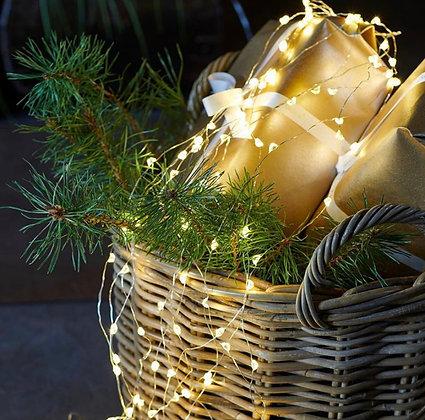 Guirlande de Noël KNIRKE à piles.
