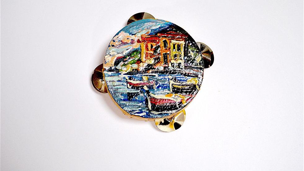 Mini Neapolitan Tambourine.