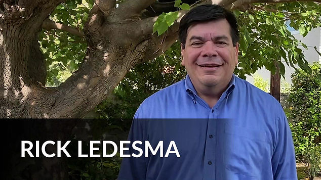Rick Ledesma Announcement Video