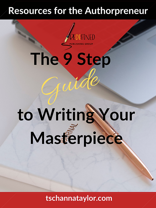 The 9 Steps to Writing Your Masterpiece