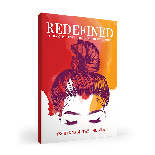 Redefined: 21 Days to Reset Your Mind, Body & Soul Autographed Copy