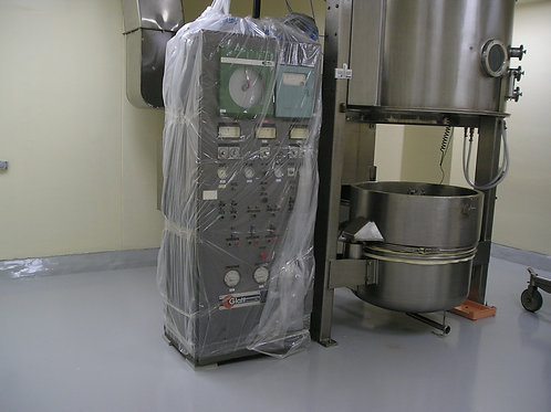 Fluid Bed Dryer and top Spray Granulator - USED