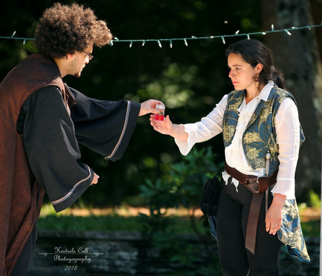"Romeo in ""Romeo and Juliet""  Photo by Ana Kestrell"