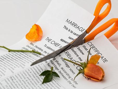 Rupture, séparation, divorce