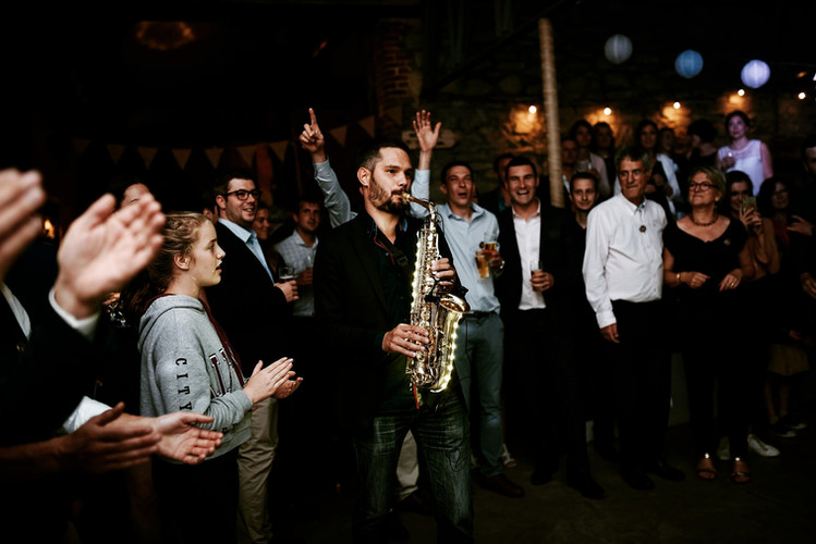 saxophone live performance