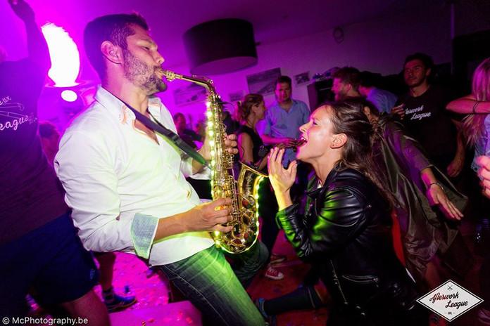 saxophone mariage soirée