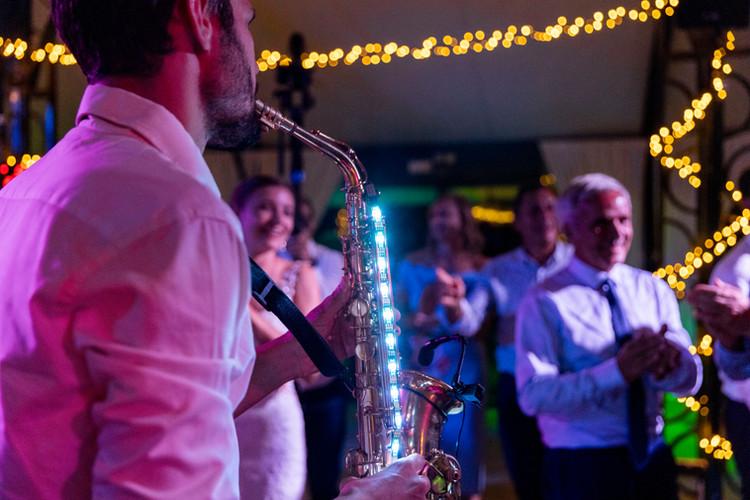 musicien saxophoniste mariage
