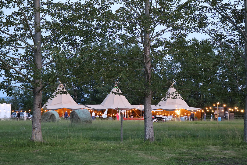 Unique tents for weddings, corporate events and festivals.