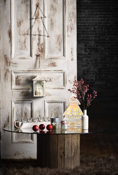 Reclaimed and patina old wood door