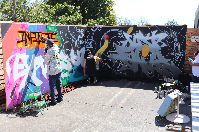 Creators Krew- Live Grafitti