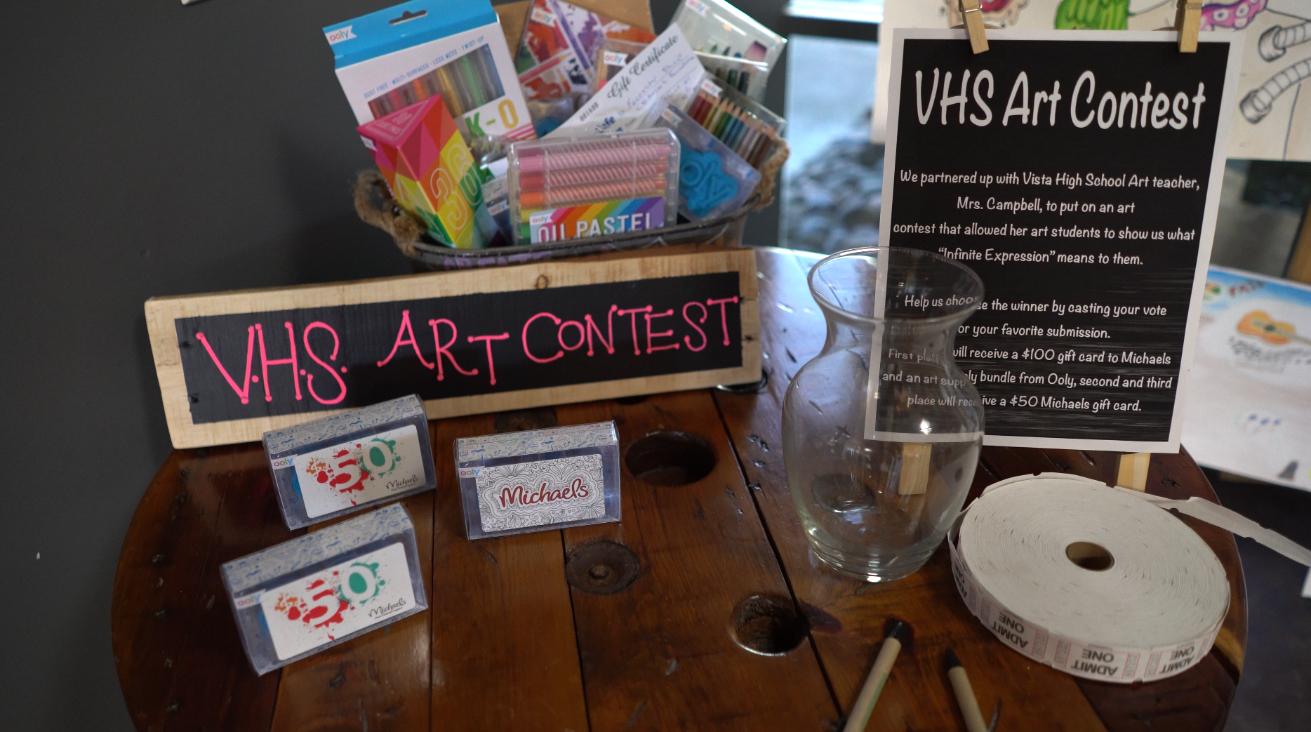 VHS Art Contest