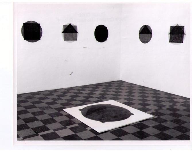 Suzanne Harris 1978 Installation at HBG