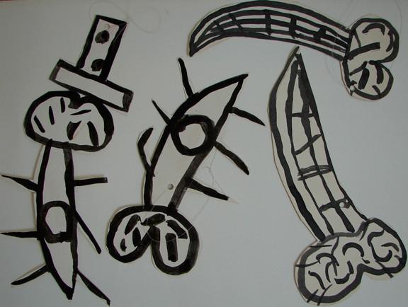 "Carlos Alfonzo ""Untitled (drawings)"""