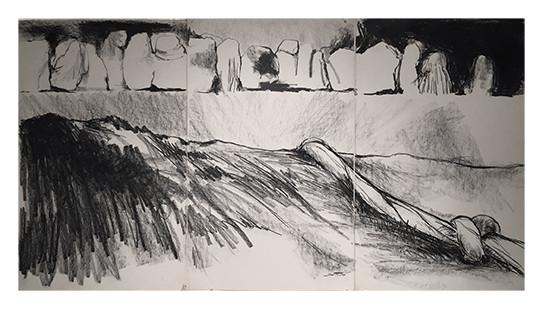 """Jody Pinto """"Knot Moving Over Landscape"""""""