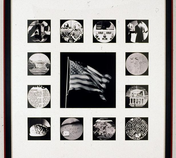 """David Wojnarowicz """"Untitled USA"""" 1989"""