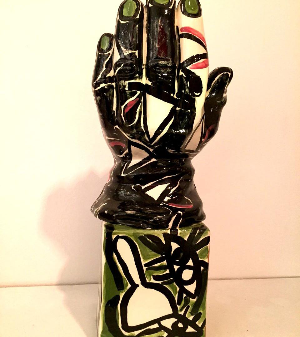"Carlos Alfonzo ""Hand with Mamey"" 1986"