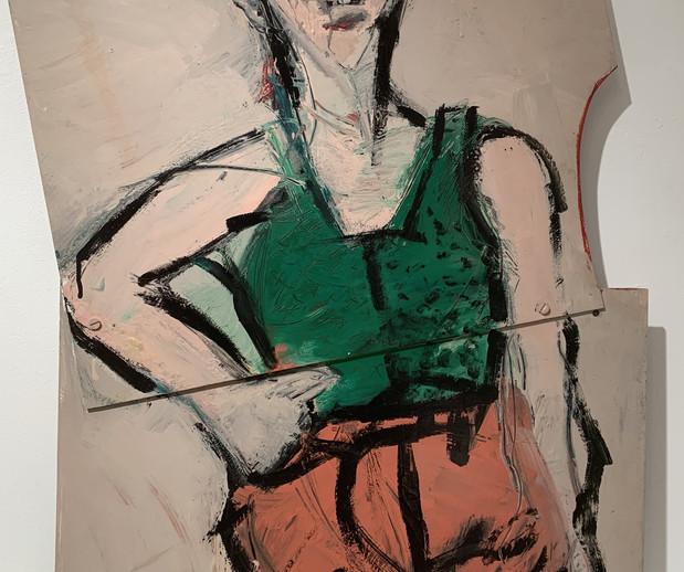 Girl In A Green Shirt, 1984