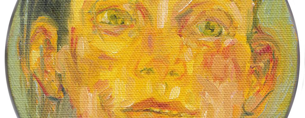 """Judy Glantzman """"Untitled"""" 2003"""