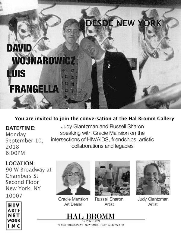 Frangella Wojnarowicz Flyer September 10