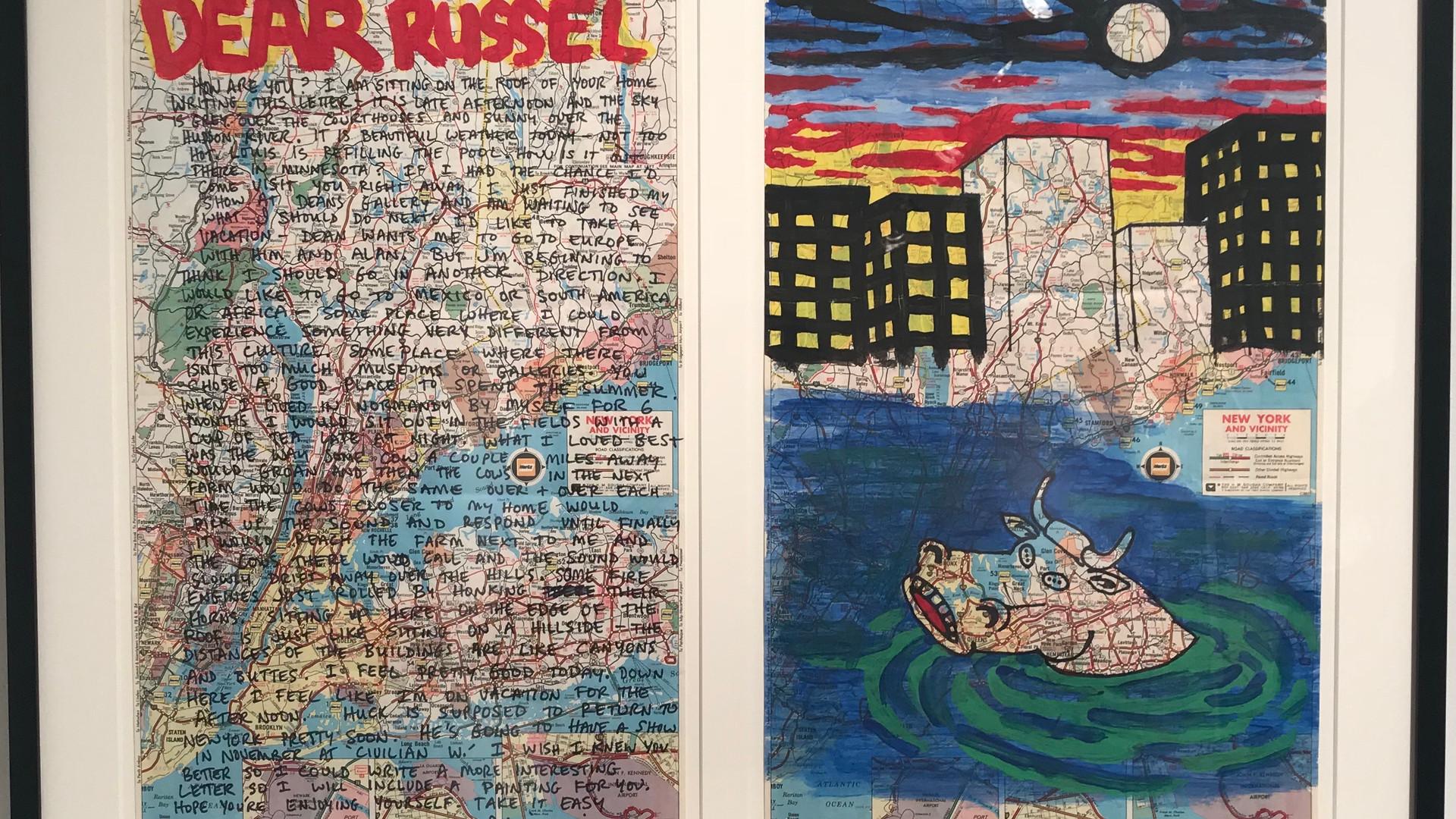 """David Wojnarowicz """"Dear Russel"""""""