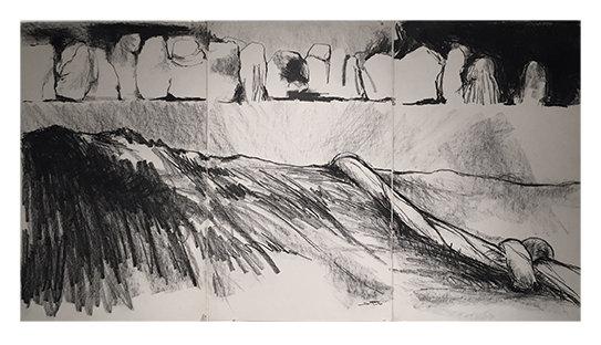 Jody Pinto work on Paper