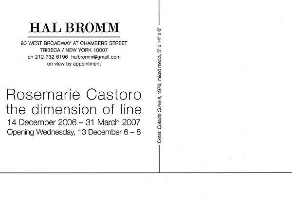 Dimension of Line_Rosemarie Castoro back.jpg