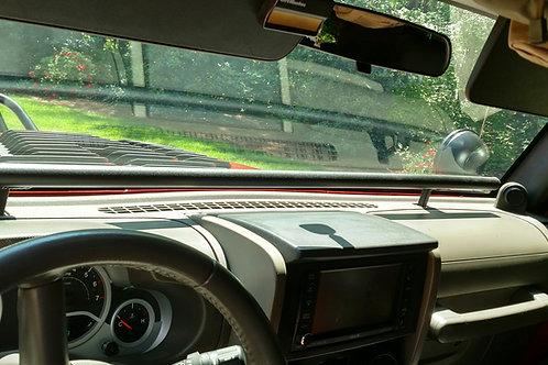 dash media rail for 2007-2018 JK, JKU jeep wrangler