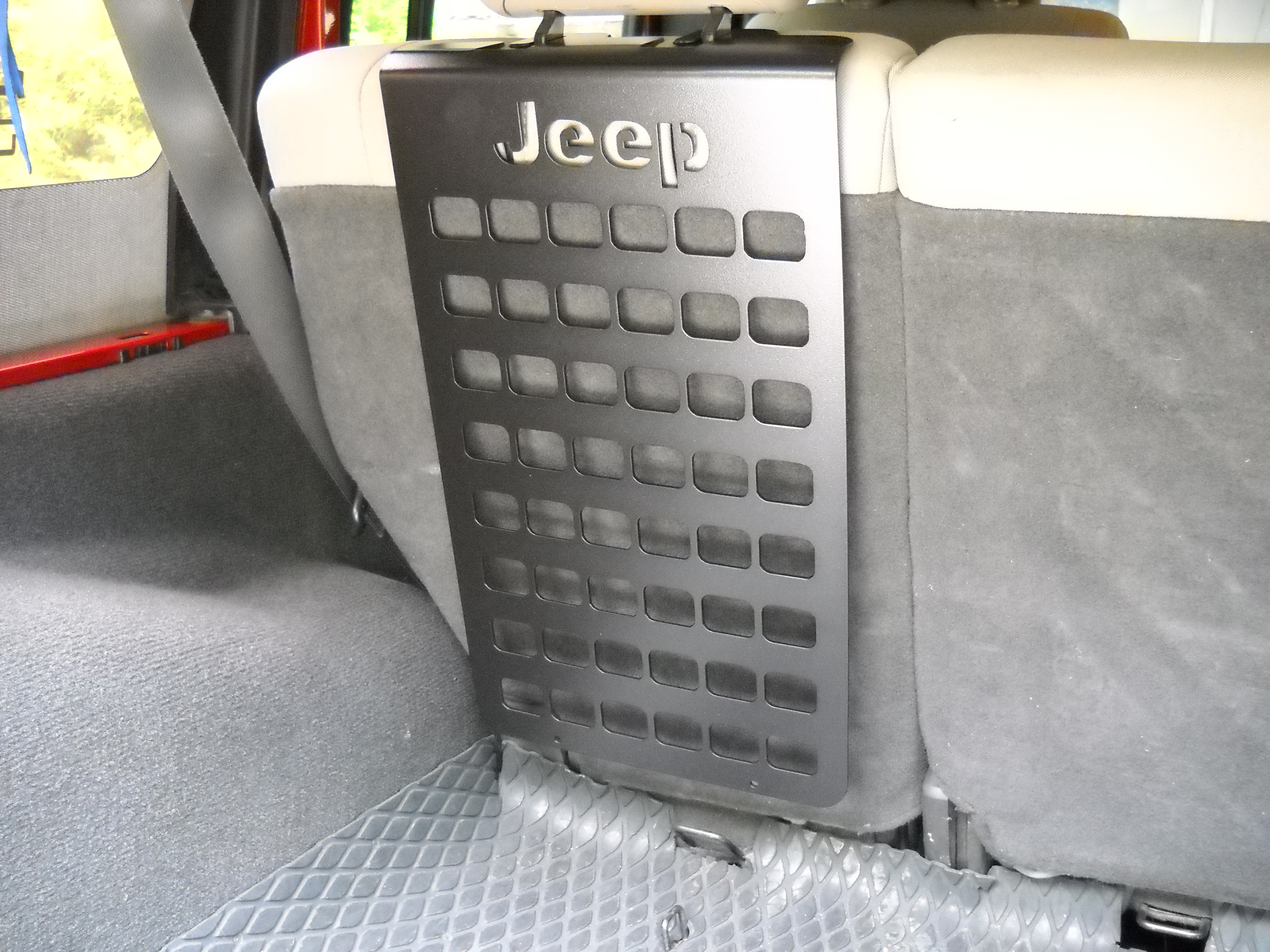 2007-18 4dr. REAR SEAT MOLLE PANEL