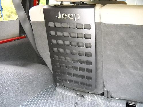 2007-18 JKU rear seat molle panel
