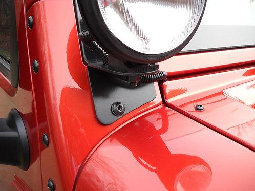 2007-18 JK Jeep windshield light brackets