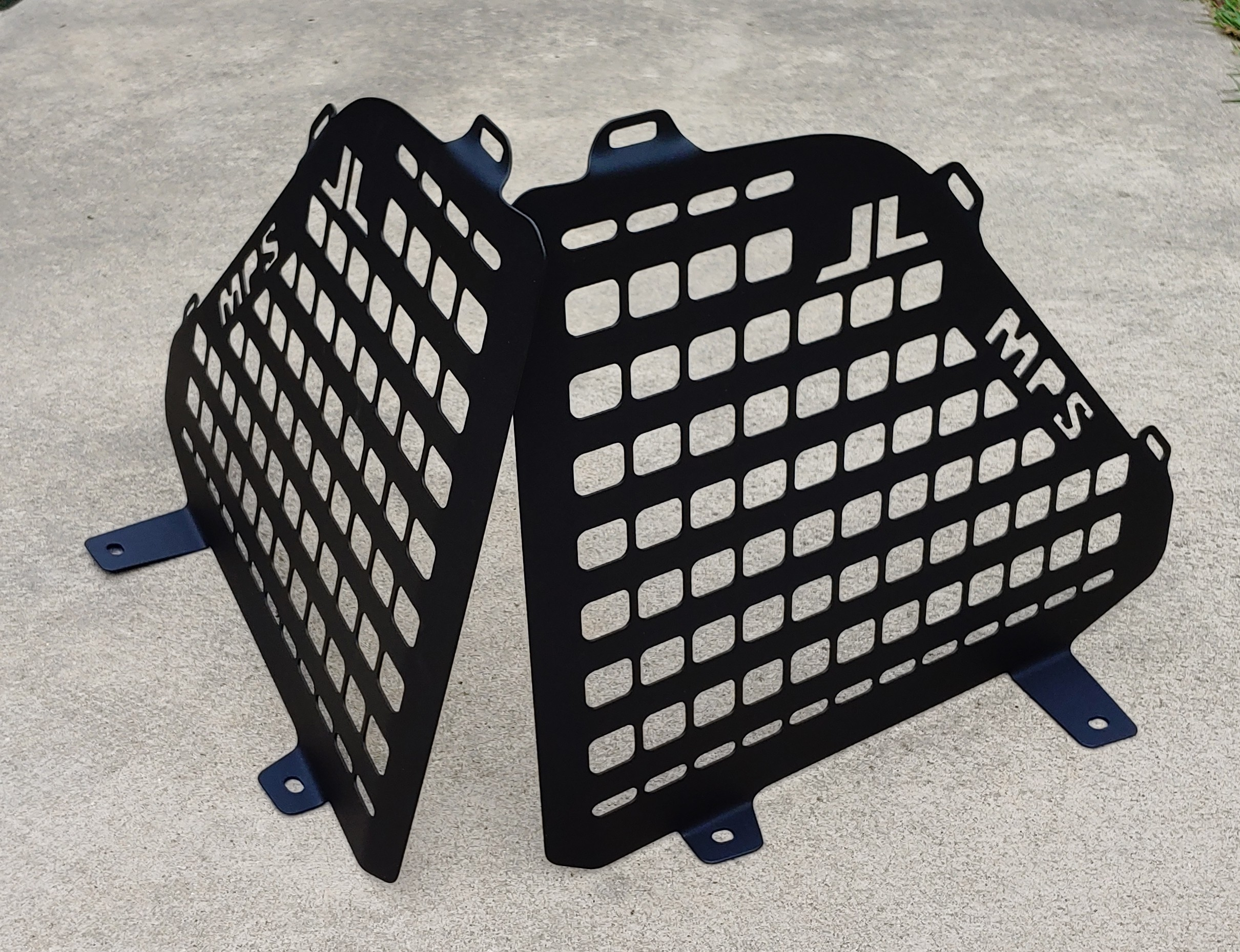 JLU Jeep rear cage molle panels