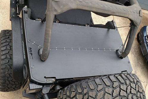 JKU Jeep Wraangler rear cargo deck cover