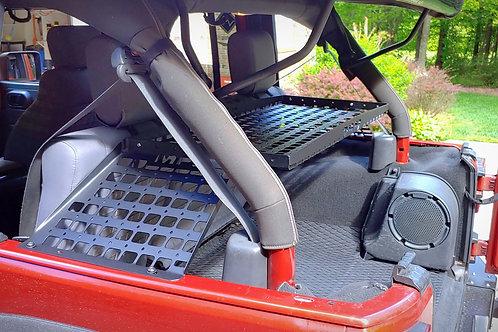 "07', 18' JKU Jeep Rear Molle Tray ""soft top version"""